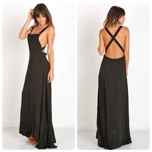 Revolve Flynn Skye farmer maxi dress size XS